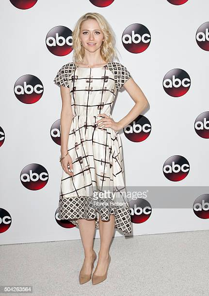 Johanna Braddy attends the Disney/ABC 2016 Winter TCA Tour at Langham Hotel on January 9, 2016 in Pasadena, California.