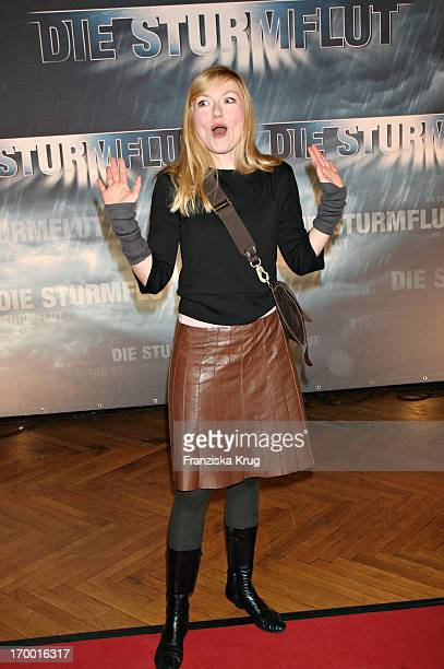 Johanna Christine Gehlen at The Premiere Of Rtl twoparter The Flood 'The Curio House in Hamburg 310106