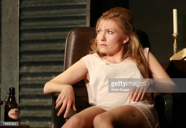 Johanna Christine Gehlen in a dress rehearsal for