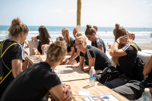 FRA: Germany visit La Grande Motte Beach- 2019 FIFA Women's World Cup France