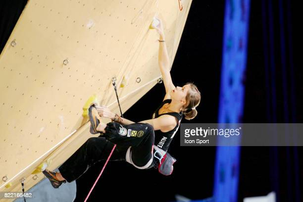 Johanna ERNST AUT Championnats d Europe d Escalade en Salle 2008 Popb Paris Bercy