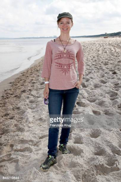 Johanna Klante attends the Till Demtroeders CharityEvent 'Usedom Cross Country' at Seebruecke Ahlbeck on September 10 2017 near Heringsdorf at Usedom...