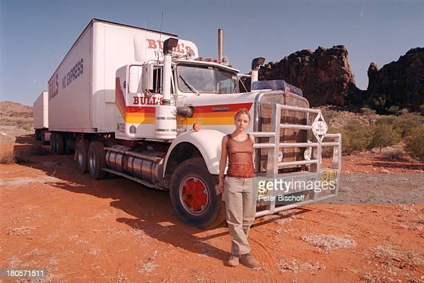 Johanna Klante ZDF2Teiler Im Herzender Fremde heisst jetzt 1000 Meilen für die Liebe Ross River Sphings bei AliceSprings/ Australien Roadtrain...
