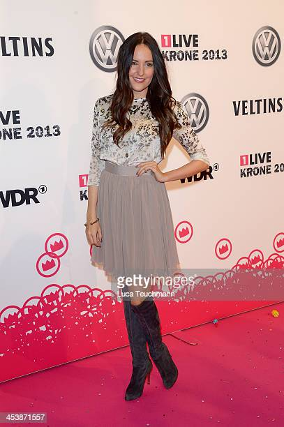 Johanna Klum attends the '1Live Krone' at Jahrhunderthalle on December 5 2013 in Bochum Germany