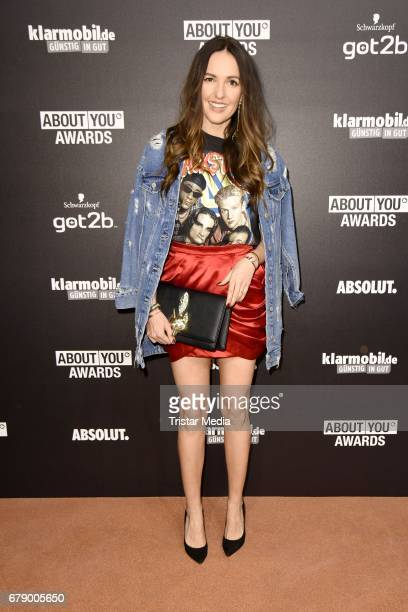 Johanna Klum attends the About You Awards on May 4 2017 in Hamburg Germany