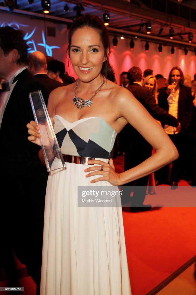 Johanna Klum attends the After Show Party of the 'Deutscher Fernsehpreis 2013' at Coloneum on October 2, 2013 in Cologne, Germany.