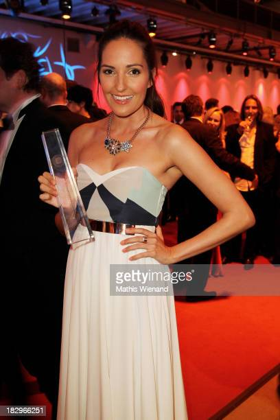 Johanna Klum attends the After Show Party of the 'Deutscher Fernsehpreis 2013' at Coloneum on October 2 2013 in Cologne Germany