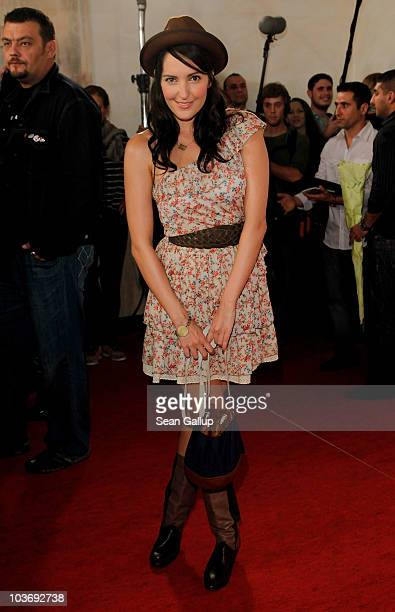 Johanna Klum attends The Dome 55 on August 27 2010 in Hannover Germany
