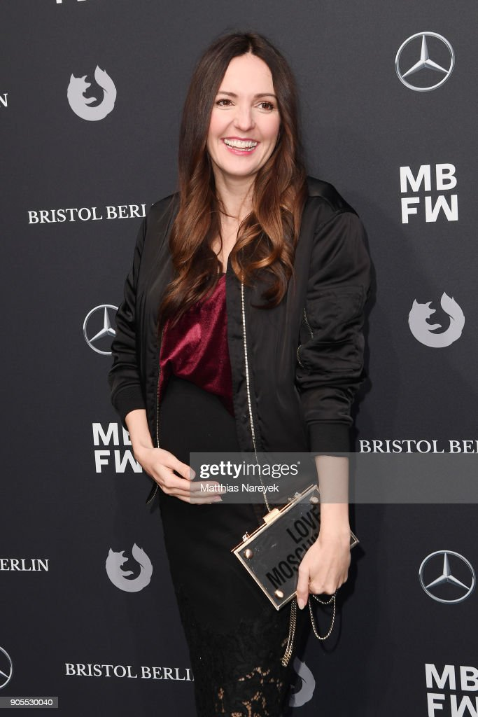 Ewa Herzog Arrivals - MBFW Berlin January 2018