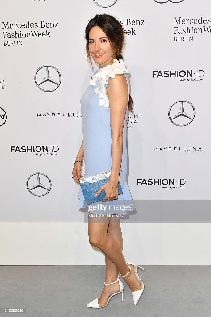 Ewa Herzog Arrivals - Mercedes-Benz Fashion Week Berlin Spring/Summer 2017 : News Photo