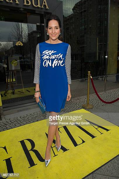 Johanna Klum attends the Grazia Pop Up during MercedesBenz Fashion Week Autumn/Winter 2014/15 at Sra Bua Restaurant on January 15 2014 in Berlin...
