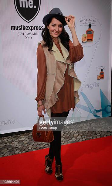 Johanna Klum attends the Musikexpress Style Award at Palais in der Kulturbrauerei on October 18 2010 in Berlin Germany