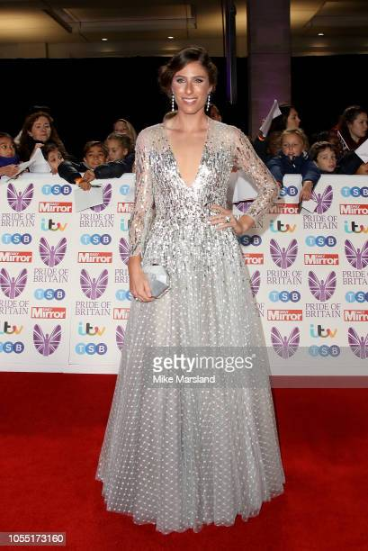 Johanna Konta attends the Pride of Britain Awards 2018 at The Grosvenor House Hotel on October 29 2018 in London England
