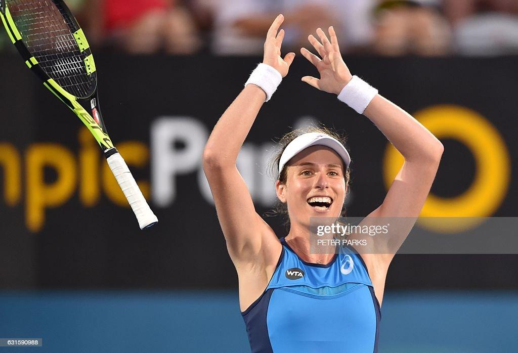 TENNIS-ATP-WTA-AUS : ニュース写真