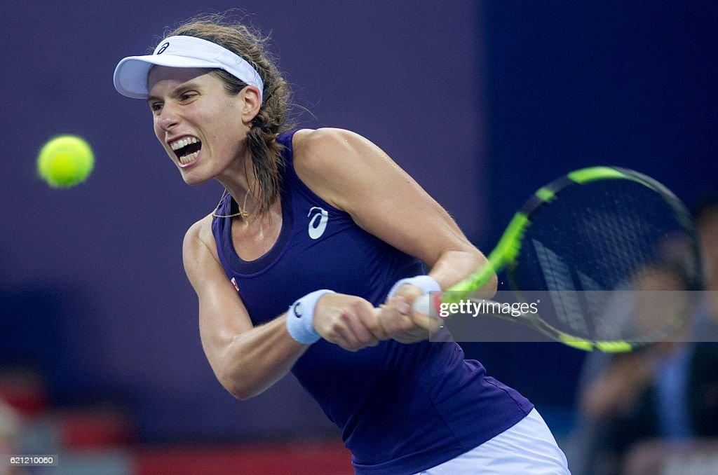 TENNIS-CHN-WTA : News Photo