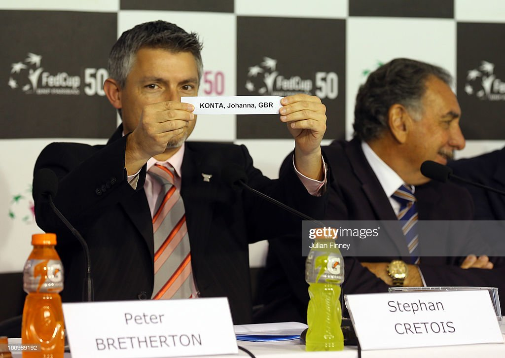 Argentina v Great Britain - Fed Cup World Group Two Play-Offs 2013: Previews : News Photo