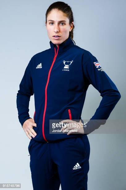 Johanna Konta of Great Britain poses for a portrait during the Fed Cup Media Day on February 2 2018 in London England