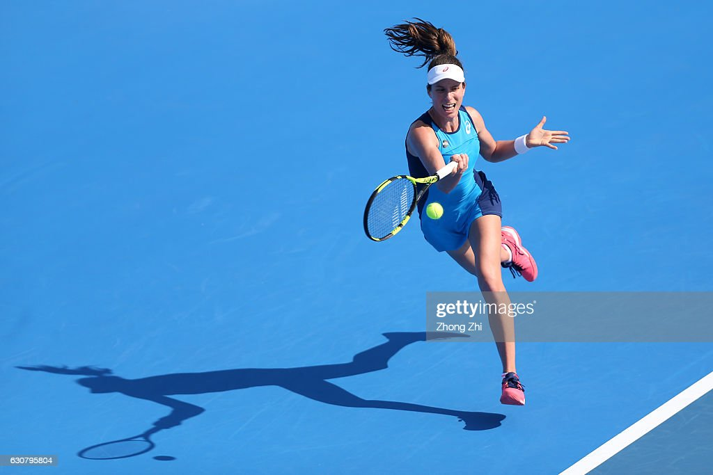 2017 WTA Shenzhen Open - Day 2 : News Photo