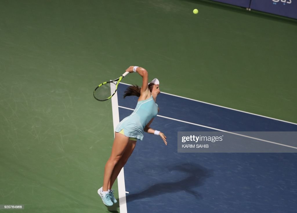 Wta Dubai Duty Free Tennis Championship Day One Photos And Images