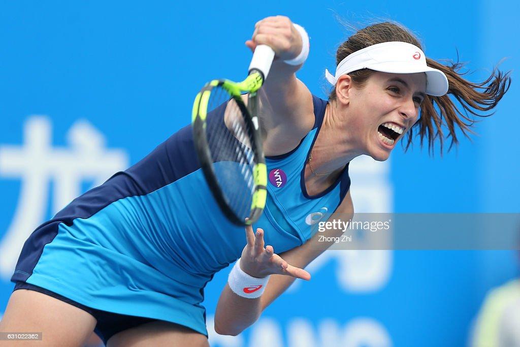2017 WTA Shenzhen Open - Day 5 : News Photo