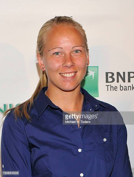 Johanna Larsson attends the 13th annual BNP Paribas Taste of Tennis at the W New York Hotel on August 23 2012 in New York City