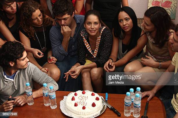 Johanna Murillo Martin Algtomaro Ana Clauria Talancon Maya Zapata Veronica Langer and Gonzalo Garcia Vivanco gather to celebrate the last day of...