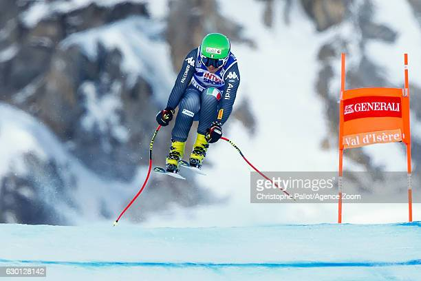 Johanna Schnarf of Italy competes during the Audi FIS Alpine Ski World Cup Women's Downhill on December 17 2016 in Vald'Isere France