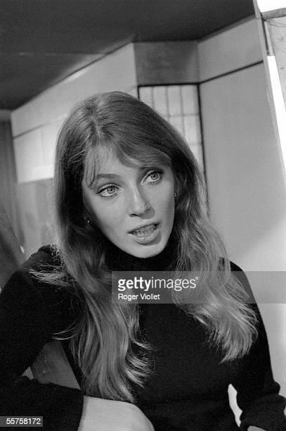 Johanna Shimkus Canadian actress Paris 1968 HA105124