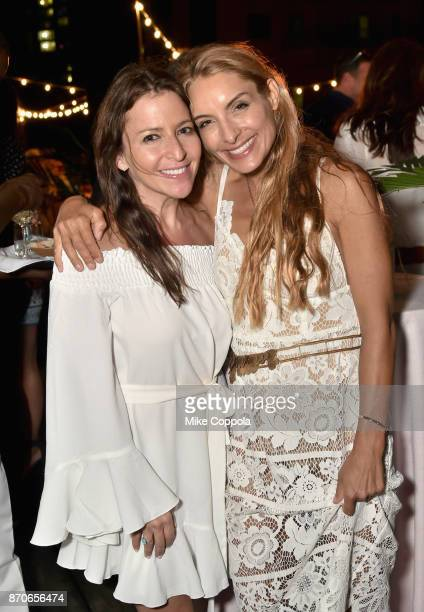 Johanna Skier and Lulu de Kwiatkowski attend the weekend opening of The NEW ultraluxury Cove Resort at Atlantis Paradise Island on November 3 2017 in...