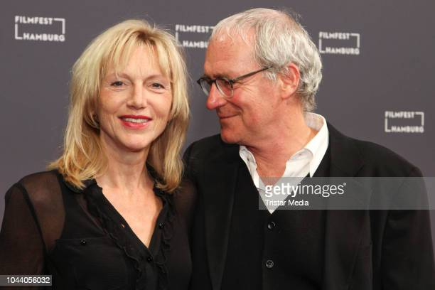 Johanna ter Steege and August Zirner attend the 'Was uns nicht umbringt' premiere during the Film Festival on September 30 2018 in Hamburg Germany