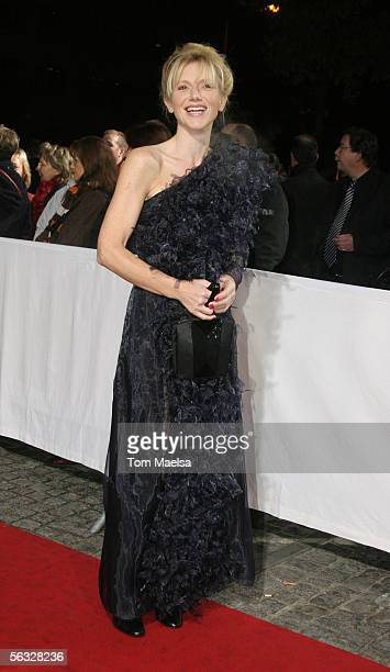 Johanna ter Steege attends the European Film Awards 2005 at Arena on December 3 2005 in Berlin Germany