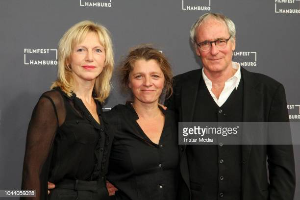 Johanna ter Steege Sandra Nettelbeck and August Zirner attend the 'Was uns nicht umbringt' premiere during the Film Festival on September 30 2018 in...