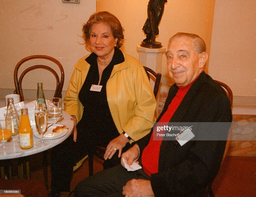 Johanna von Koczian, Ehemann Wolf;Kabitzky, \'Berlinale-Brunch\' d ...