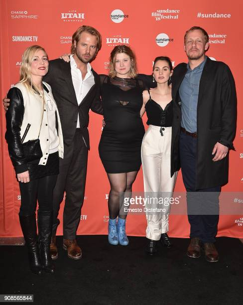 Johanne Algren Thijs Romer Isabella Eklof Victoria Carmen Sonne David Sorensen attend the Holiday Premiere during the 2018 Sundance Film Festival at...