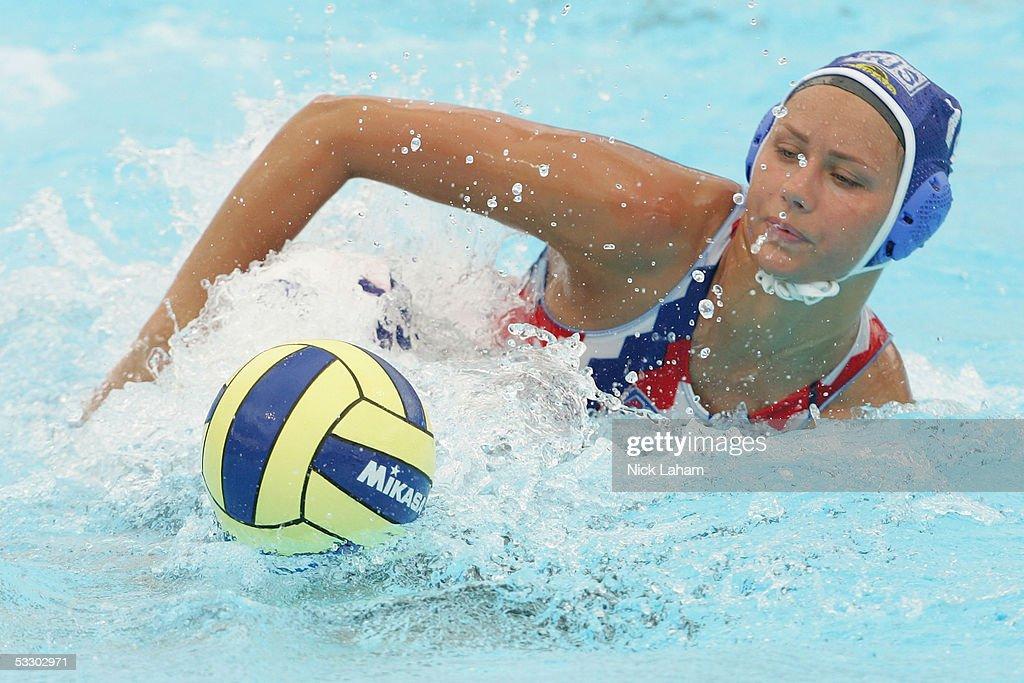 XI FINA World Swimming Championships - Women's Water Polo : News Photo