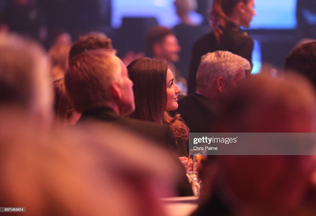 Johannes B Kerner And His Girlfriend Laura Schilling During The