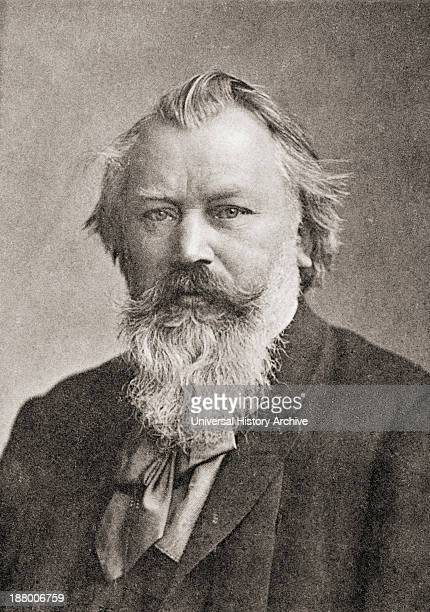 Johannes Brahms 1833 – 1897 German Composer And Pianist From Johannes Brahms By Heinrich Reimann Published 1903
