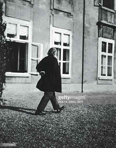 Johannes Brahms German composer pianist and conductor Photographic portrait