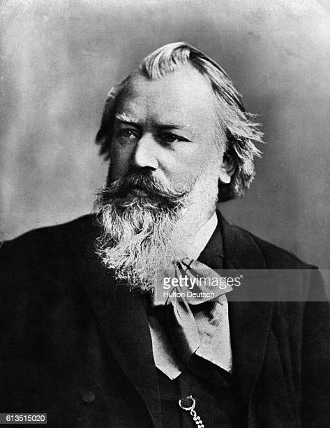 Johannes Brahms German composer