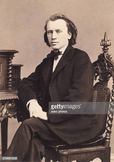 Johannes Brahms German pianist and composer born in Hamburg Ca 1870