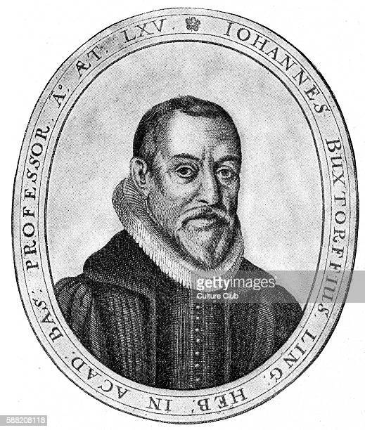 Johannes Buxtorf I was a scholar of Hebrew and professor of Hebrew studies at Basel University Switzerland known there as the master of rabbis