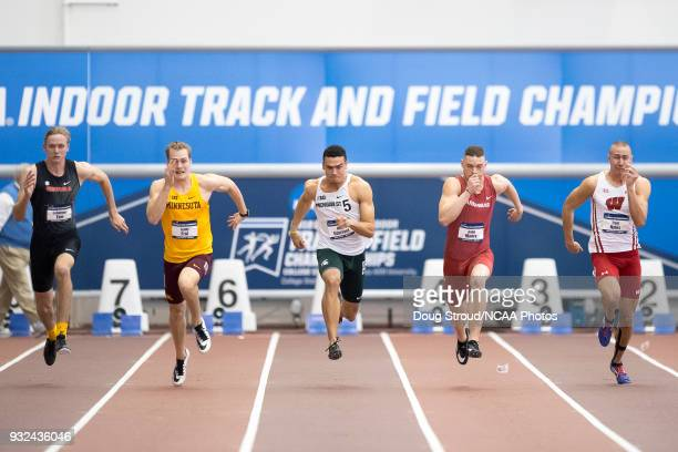 Johannes Erm of the University of Georgia, Teddy Frid of the University of Minnesota, Nick Guerrant of Michigan State University, Gabe Moore of the...