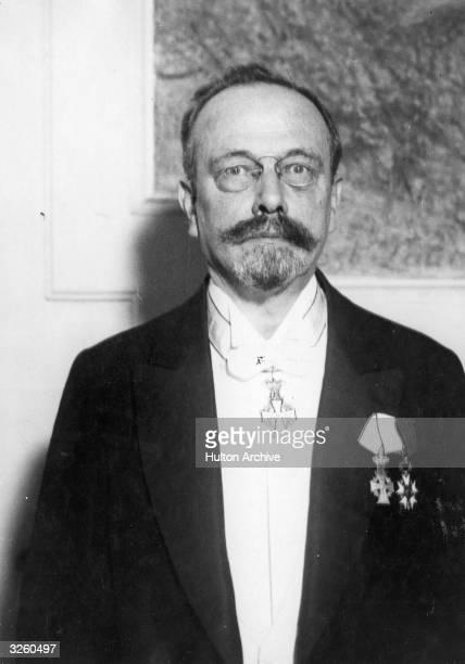 Johannes Fibiger Danish pathologist a Nobel prize winner in 1926