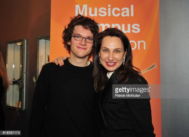 Johannes Fischer and Irina Nikitina attend MUSICAL OLYMPUS FESTIVAL Presents SIX RISING STARS AfterParty at Helen Yarmak Studio on February 24 2010...