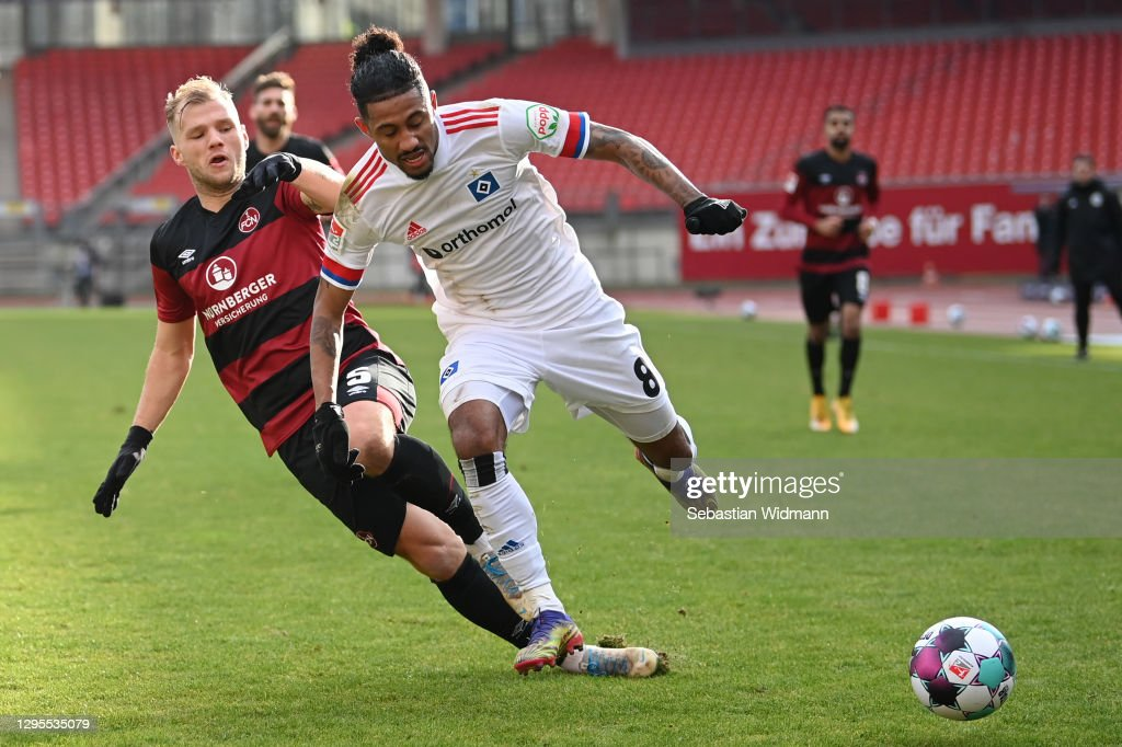 1. FC Nürnberg v Hamburger SV - Second Bundesliga : ニュース写真