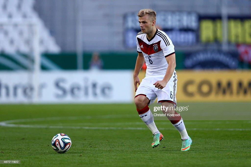 Germany v Ukraine - UEFA U21 Championship Playoff: Second Leg : News Photo