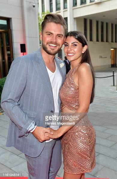 Johannes Haller And His Girlfriend Yeliz Koc Attends The Red Summer