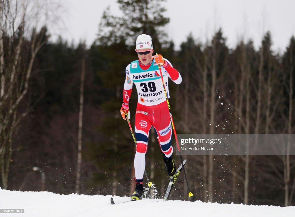 Men's 15KM Cross Country - FIS Nordic World Ski Championships