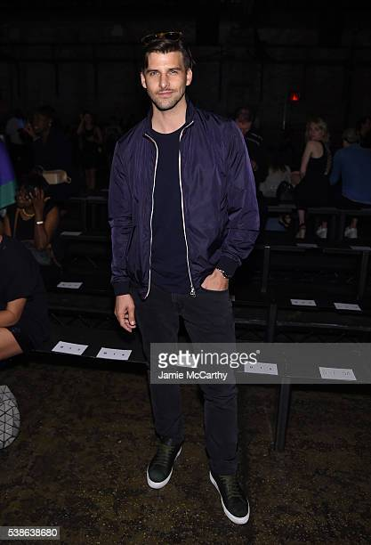 Johannes Huebl attends Public School's Women's And Men's Spring 2017 Collection Runway Show at Cedar Lake on June 7 2016 in New York City