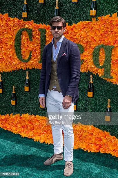 Johannes Huebl attends the 9th Annual Veuve Clicquot Polo Classic at Liberty State Park on June 4 2016 in Jersey City New Jersey